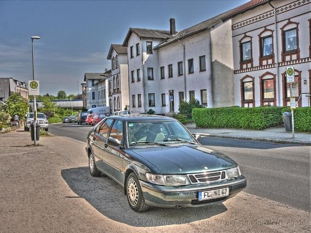 Saab900 at Home (HDR>LDR in fattal)